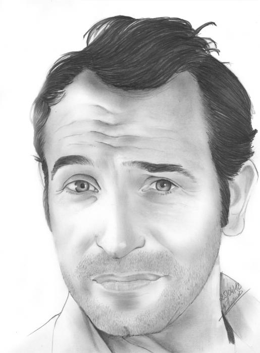 Jean Dujardin by Yann